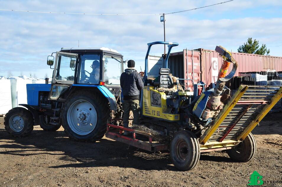 Подготовка к выкопки заказов из полей